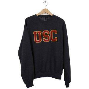 USC Trojan Basics Charcoal Fleece Sweatshirt